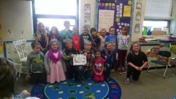 West Forest first-graders author book