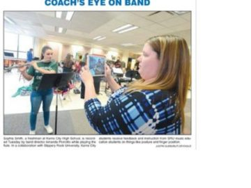Karns City students use iPads for music education