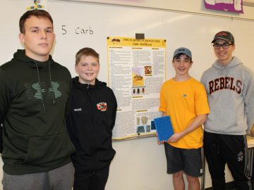 Bethel Park High School students work to save honey bee population