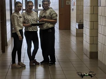 """DuBois Area Middle School students """"take off"""" by coding with drones"""