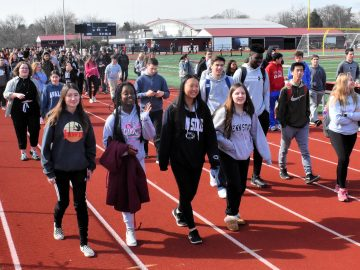 """Unity Walks"" are a growing tradition in the Colonial School District"